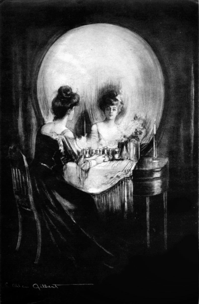 """All is Vanity"" by C. Allan Gilbert"