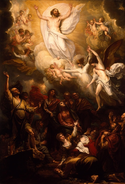 """""""The Ascension,"""" by Benjamin West"""