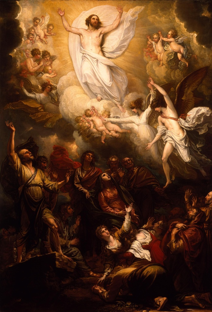"""The Ascension,"" by Benjamin West"