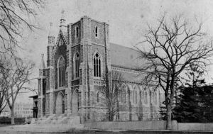 Picture of St. Mary's Church in New Haven, CT