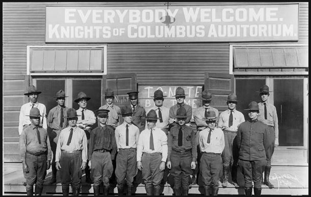 Knights of Columbus Recreation Centers During WWI