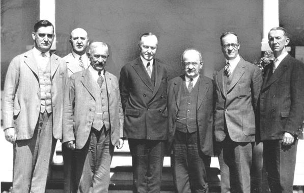 Knights of Columbus Leadership with U.S. President Calvin Coolidge, 1926
