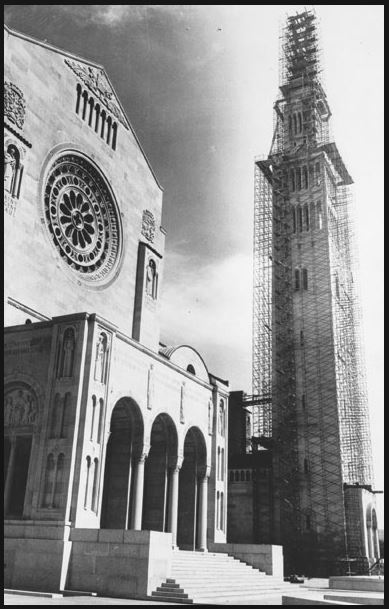 The Knights of Columbus contributed $1 million toward the construction of the 329-foot bell tower at the National Shrine of the Immaculate Conception in Washington, D.C.
