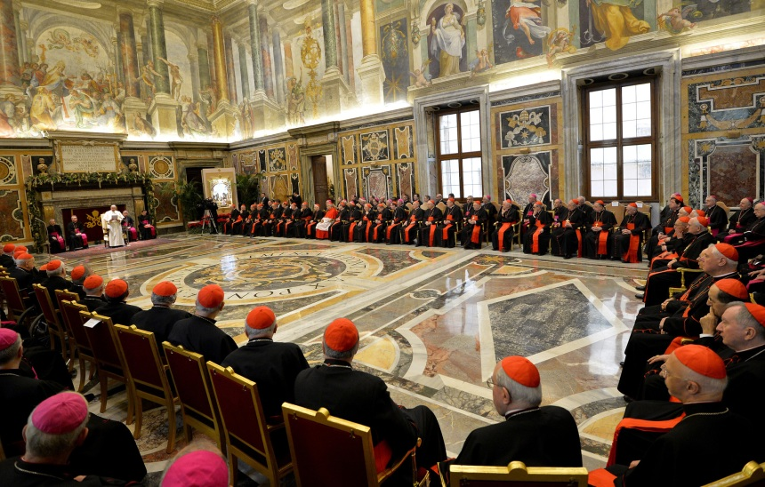 Pope Francis Chastises Roman Curia